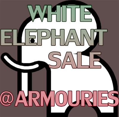 White Elephant Sale at the Armouries