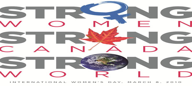 Strong Women, Strong Canada, Strong World