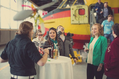2014 Festival Of Beer at the Canadian Bushplane Heritage Center