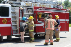 Sault Fire Services Mobile Shower