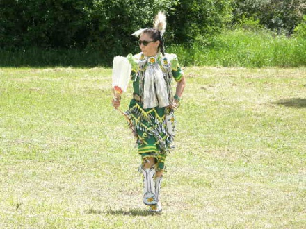 Aboriginal Day was celebrated Saturday on White Fish Island