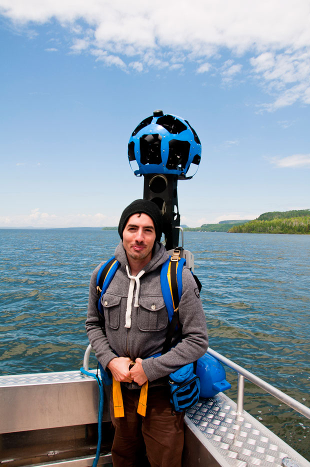 Google in Lake Superior National Marine Conservation Area  photo: Parks Canada