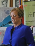Sault Ste. Marie Mayor Debbie Amaroso is excited about the future of the city.