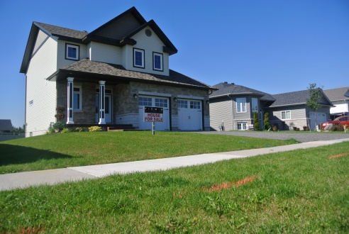 This is a two storey model on Konkin Ave, open on Sunday