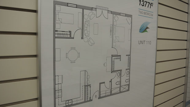 One of many floor plans available
