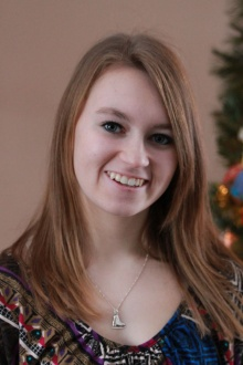 Michaela Duguay -White Pines Student/Photographer and designer of the Sault Ste. Marie 2015 calendar