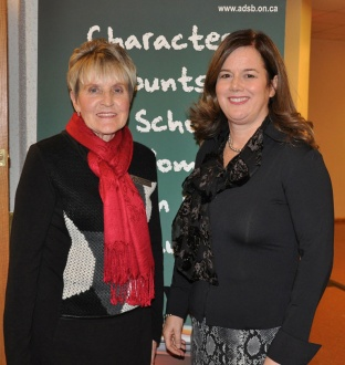 Vice Chair Gladys Wiggins (left) and Chair Jennifer Sarlo (right)