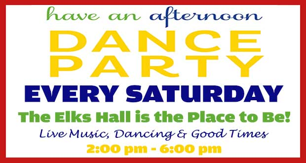 Elks Hall's Saturday Matinee of Music and Dancing