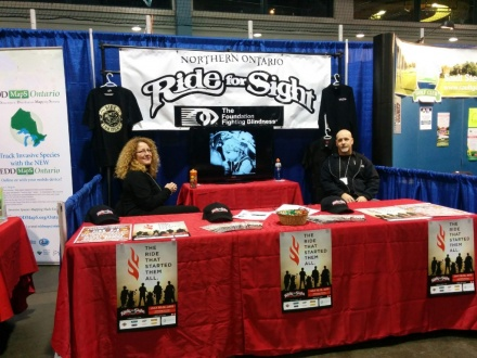 Ride For Sight is coming up shortly, the reps were there to tell you all about it