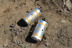 Spent Smoke Canisters