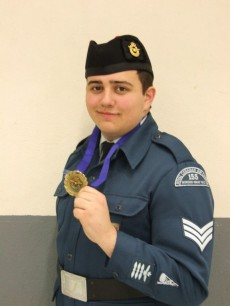 Cadet-Sgt.-Ben-Fisher-with-his-Gold-Medal-for-Efectice-Speaking-230x306