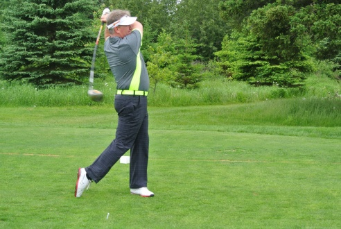 Scott Sexsmith from Rogers Radio takes his best swing