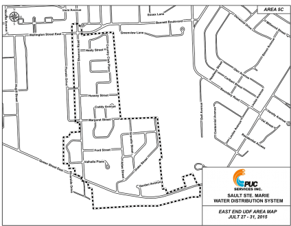 East End UDF Area Map 5C