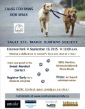 2015 Cause for Paws Dog Walk