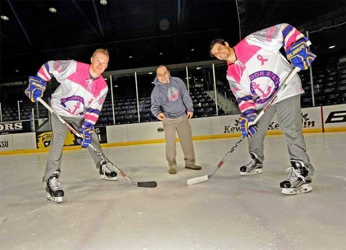 Laker Hockey Helps Get a Drop on Cancer