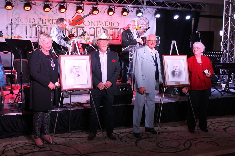 Our 2015 Northern Ontario Country Music Hall of Fame inductees,  Al Mooney & Don Brose. Photo courtesy: Tom Stephenson - www.nocma.ca