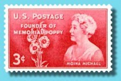 Moina Michaels Stamp