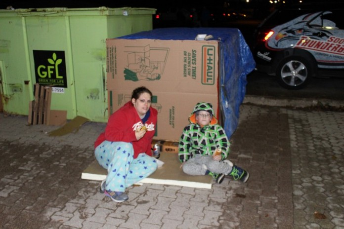 Soup Kitchen Great Box Sleepover 2015