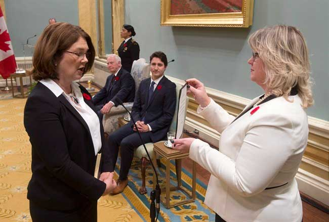 Health Minister Sworn In