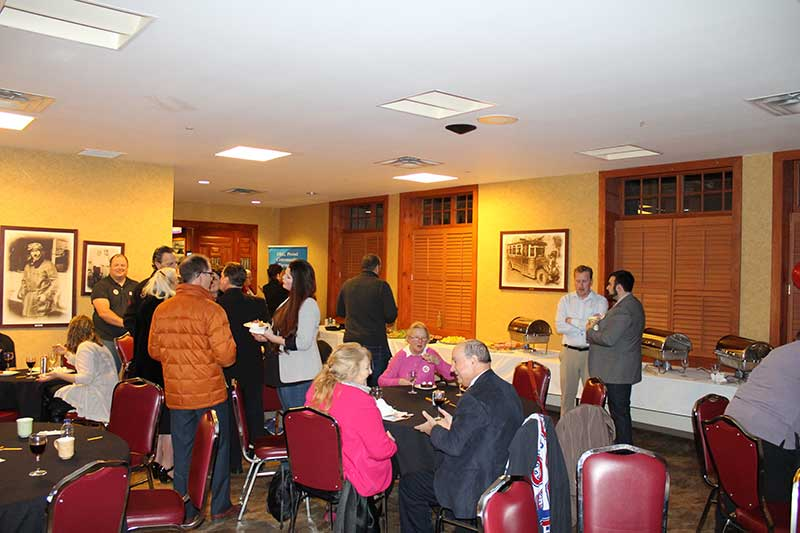 Sponsors, supporters and volunteers attended the kick off announcements Friday evening