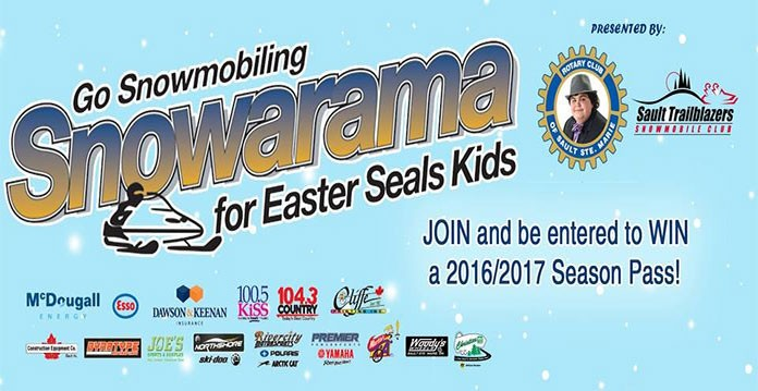 Rotary Club of Sault Ste Marie SNOWARAMA for Easter Seals Kids 2016