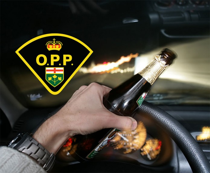 OPP drinking driving impaired