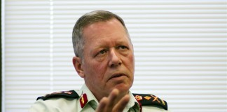 Chief of Defence Staff, General Jonathan Vance