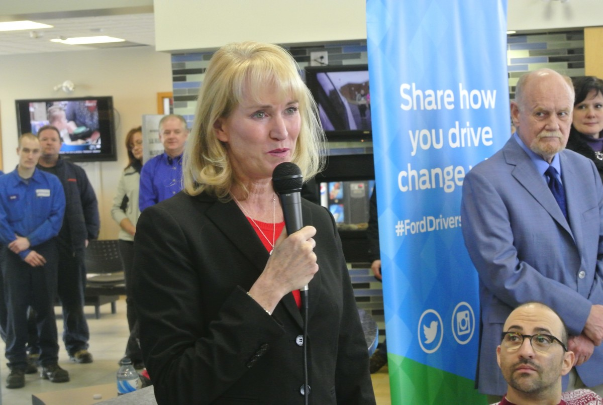 Dianne Craig, President and CEO Ford Motor Company Canada ltd.