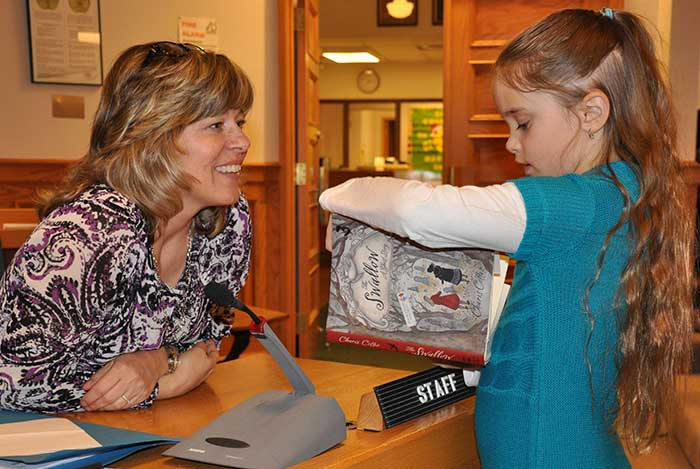 Students from Grand View Public School read to and shared their thoughts on their books with Algoma District School Board Trustees and Senior Administration at a recent Board Meeting.