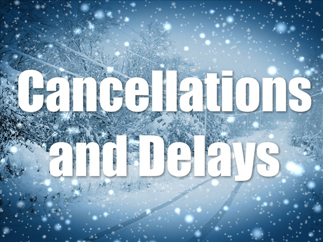 Winter Cancellations and Delays