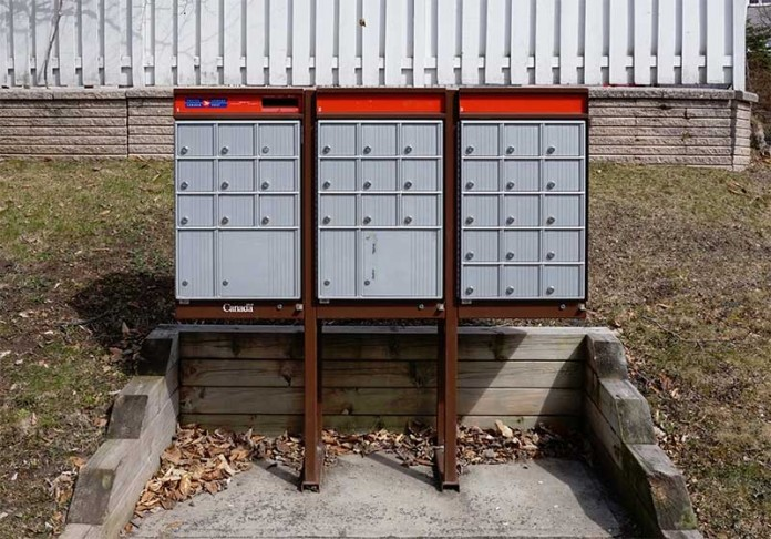 Canada Post Community Mailboxes