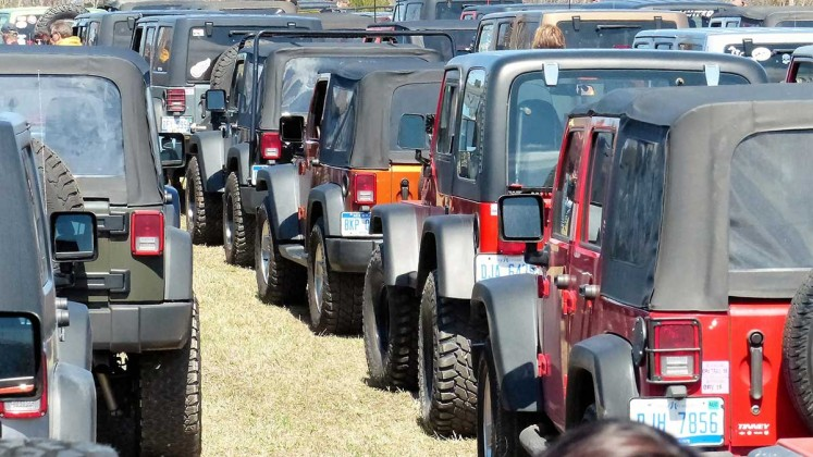 Jeep the Mac: Staging Area