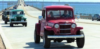 Jeep the Mac: Leading the Bridge Crossing