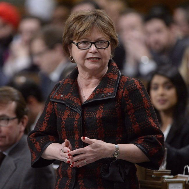 Public Services Minister Judy Foote