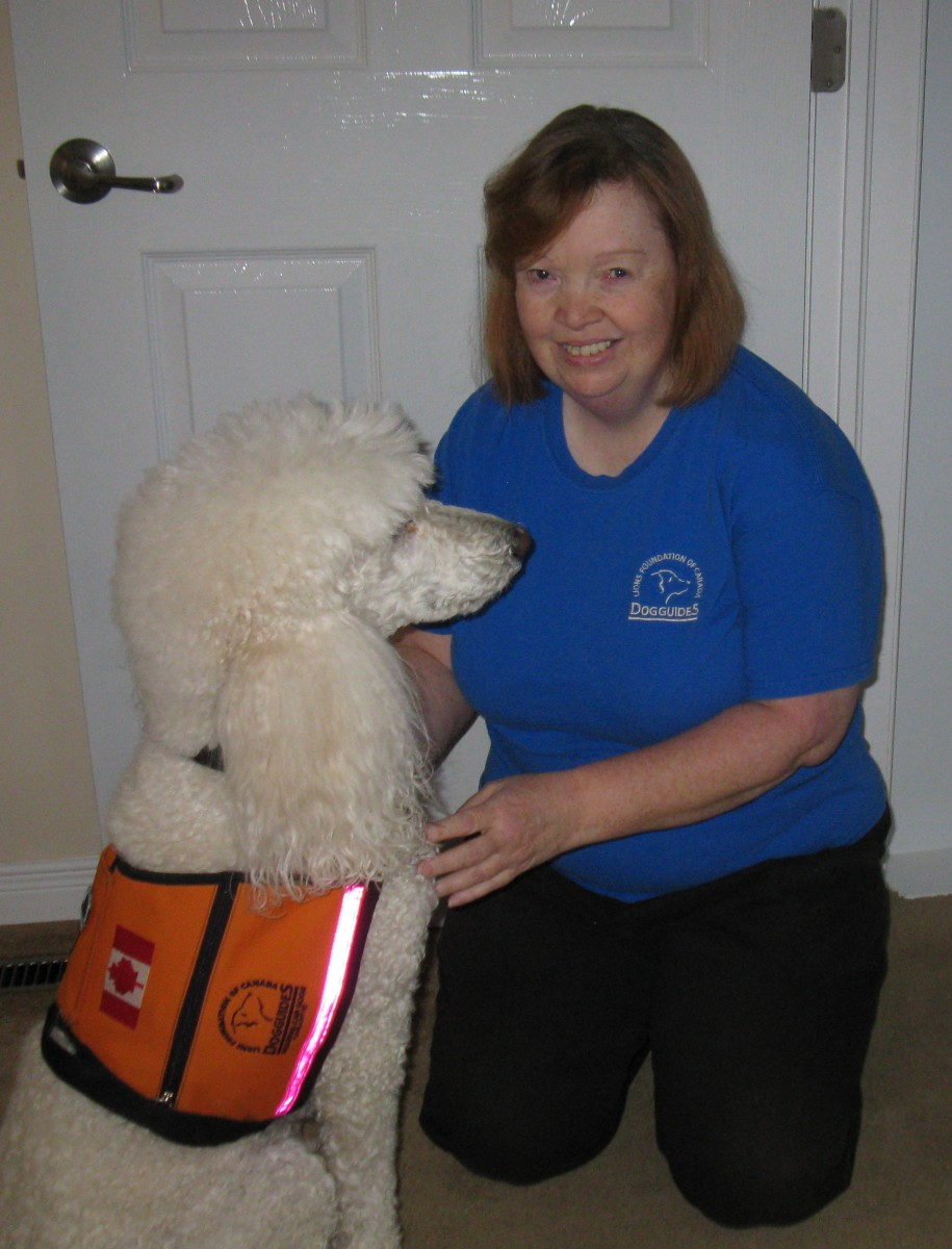 Lesley Whitehead and Digit
