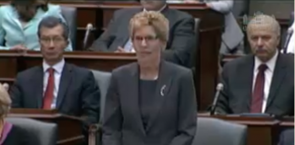 Ontario Parliament today