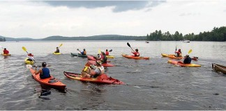 St. Mary's River Run Kayak Races
