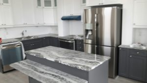 Fully customized kitchens with high end appliances are just one of the features of the units.
