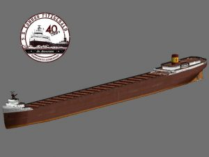A 3D model of the Fitzgerald created for the 40th anniversary last year by Derek Pearce of Project Sault Ste. Marie