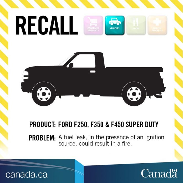 Ford Truck Recall