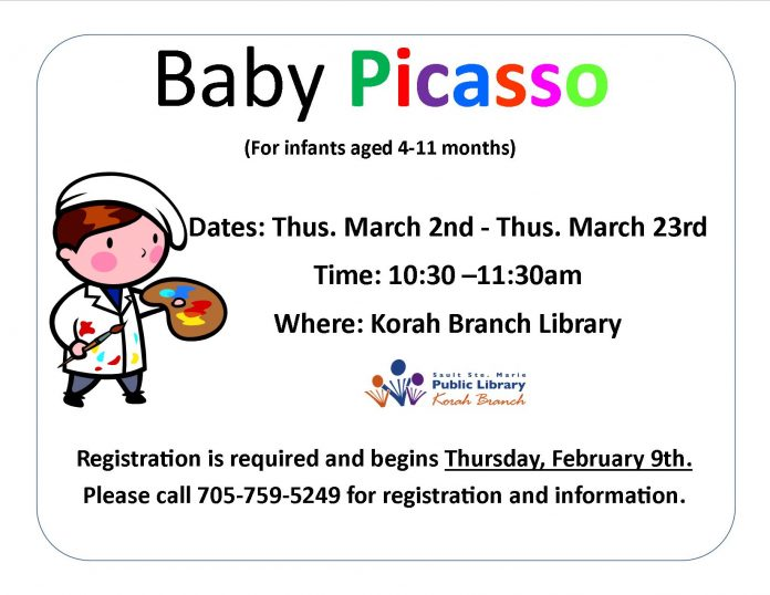 baby picasso winter 2017 poster