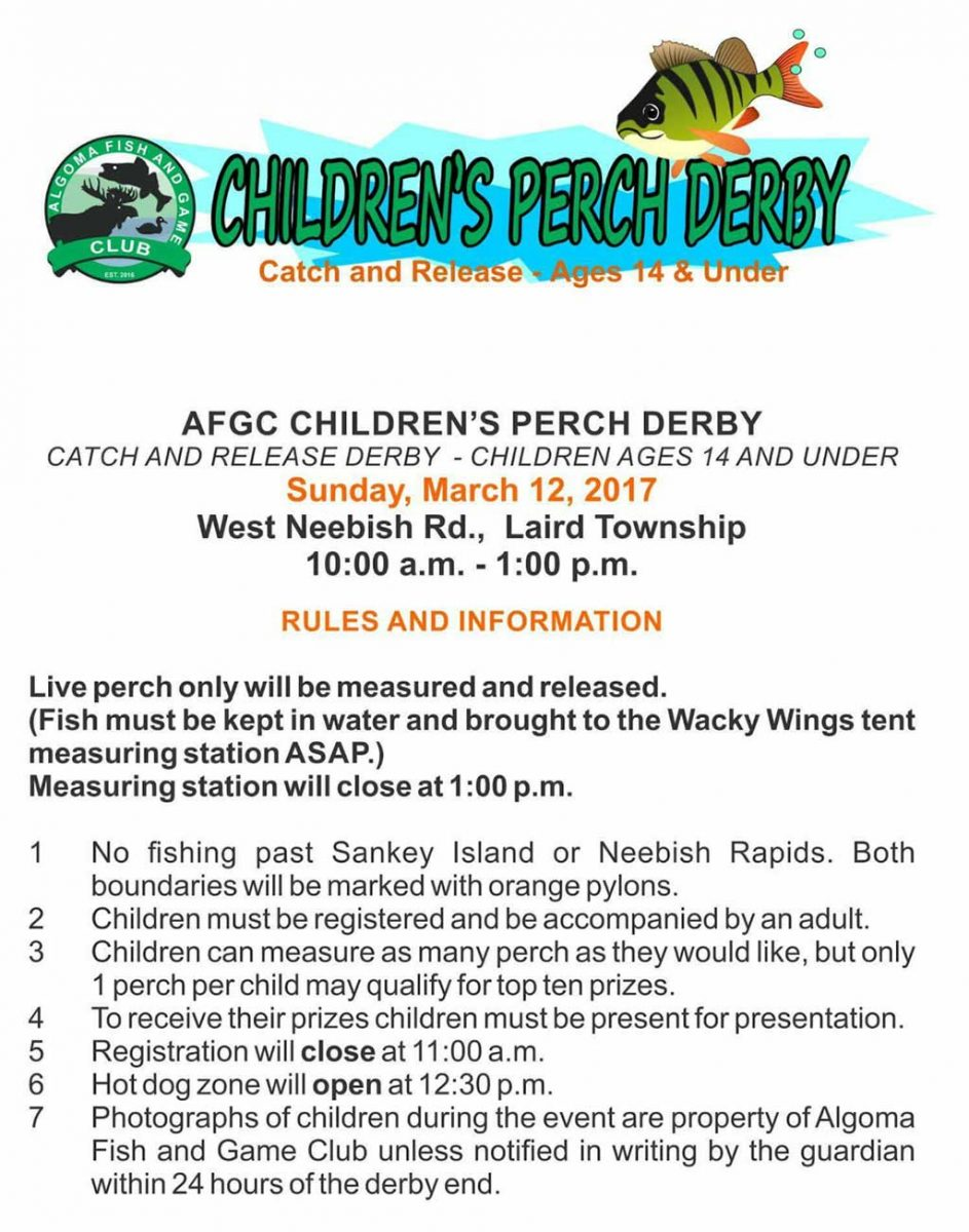 AFGC PERCH DERBY POSTER