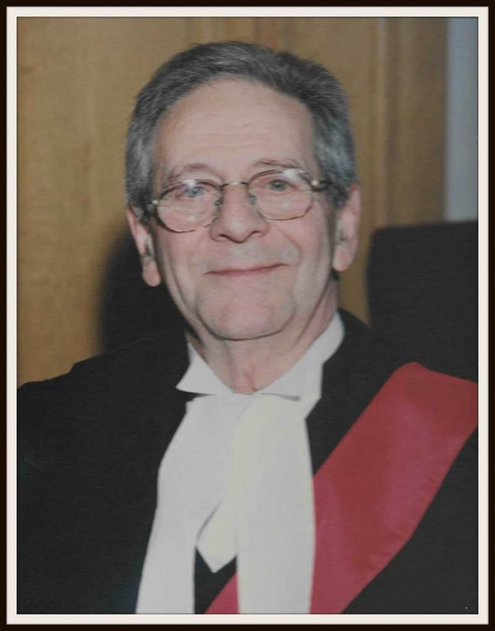 The Honourable Mr. Justice, James Domenic Greco
