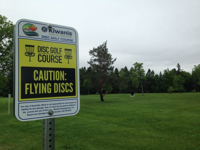 The Kiwanis Club of Lakeshore Disc Golf Course