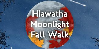 Hiawatha Moonlight walk