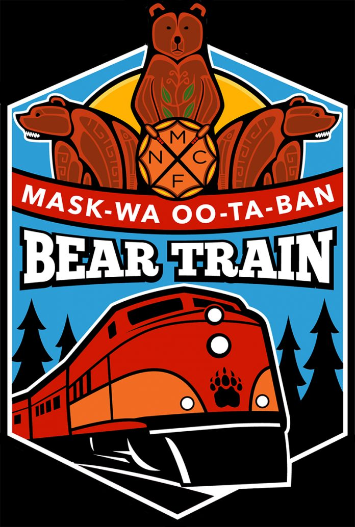 Mask-wa Oo-ta-ban Bear Train