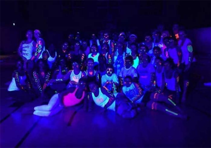 Fit Bodies. Fit Minds Glow and Flow Extravaganza!