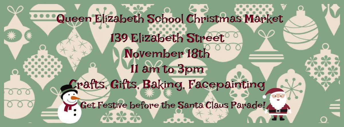 Queen Elizabeth Christmas Craft Sale