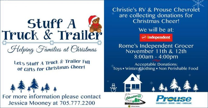 Stuff A Trailer & Truck: Helping Families at Christmas