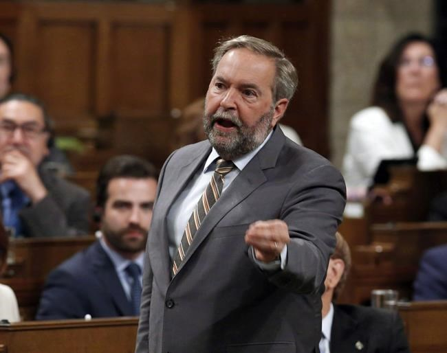Former NDP leader Tom Mulcair expected to resign in spring